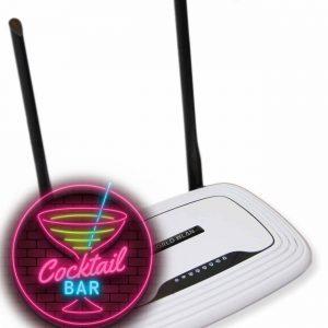 Kunden WLAN Hotspot System für Bars, Kneipen, Lounge, Restaurant, Hotel